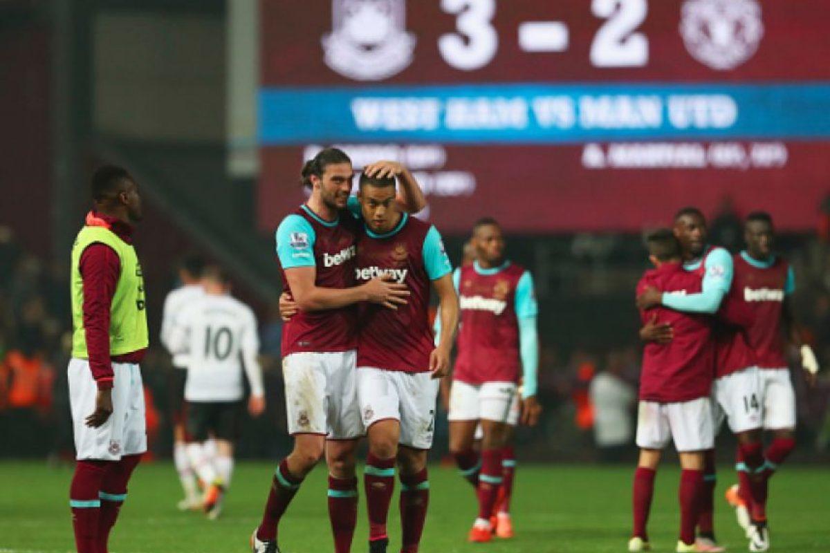 West Ham le dice adiós a Upton Park con triunfo sobre ManUtd Foto:Getty Images