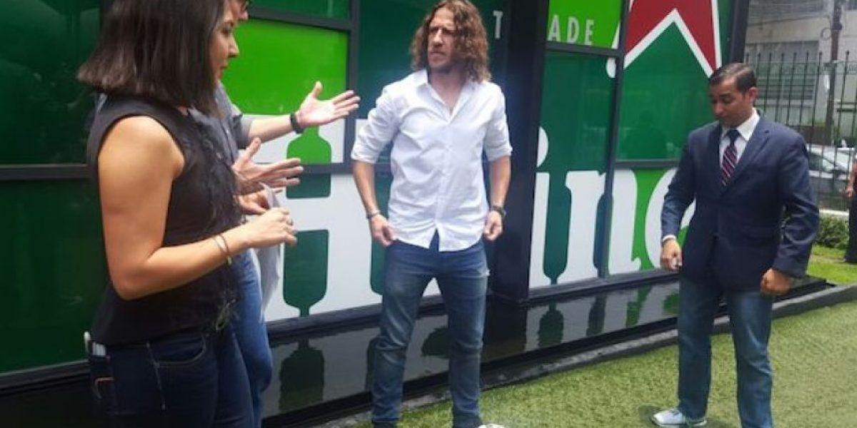 """""""Prometo que volveré a México"""": Carles Puyol"""