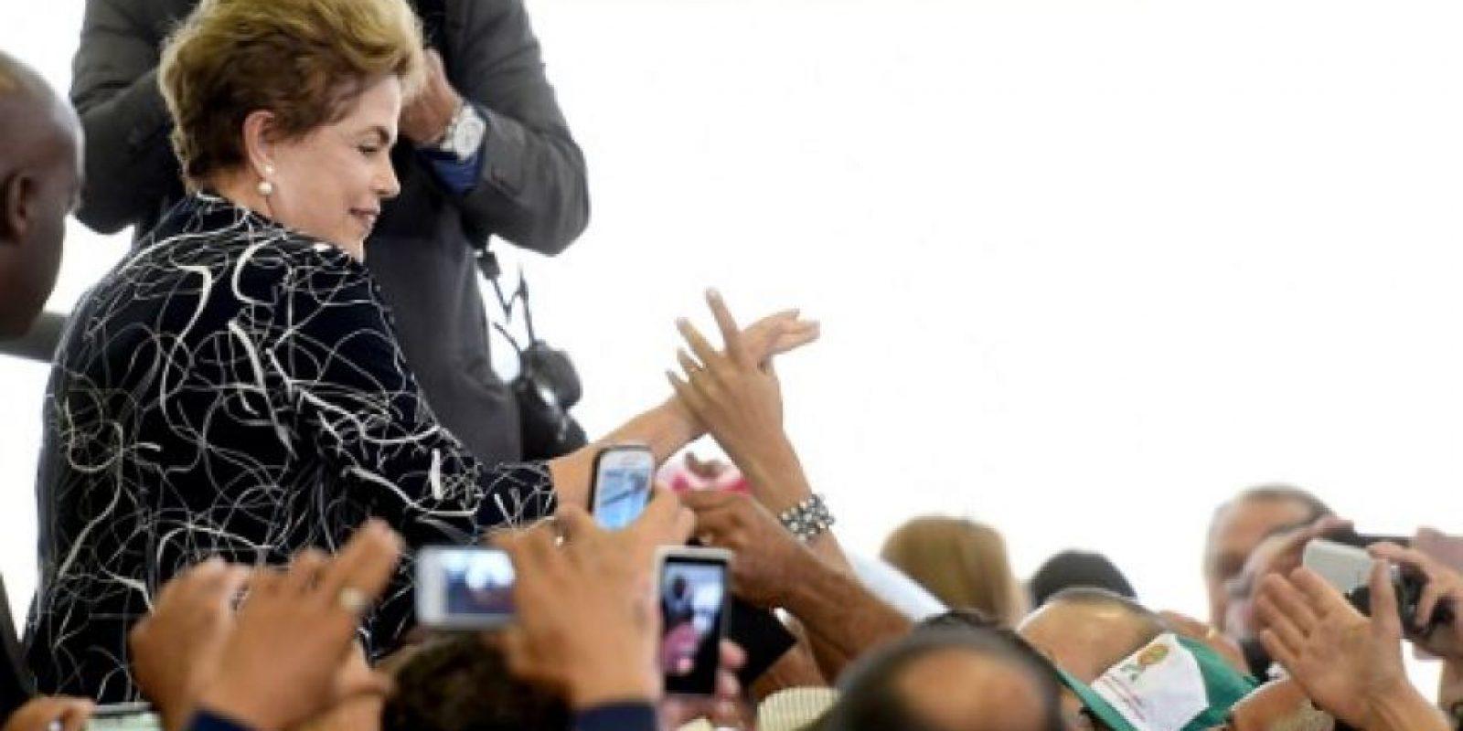 La mandatarias llegó al poder en enero del 2011. Foto:AFP