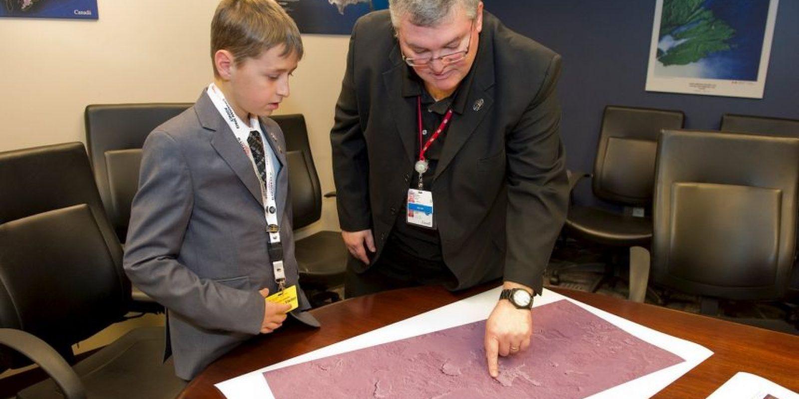 William Gadoury ganó el primer premio en la Expociencia de Quebéc Foto:facebook.com/CanadianSpaceAgency