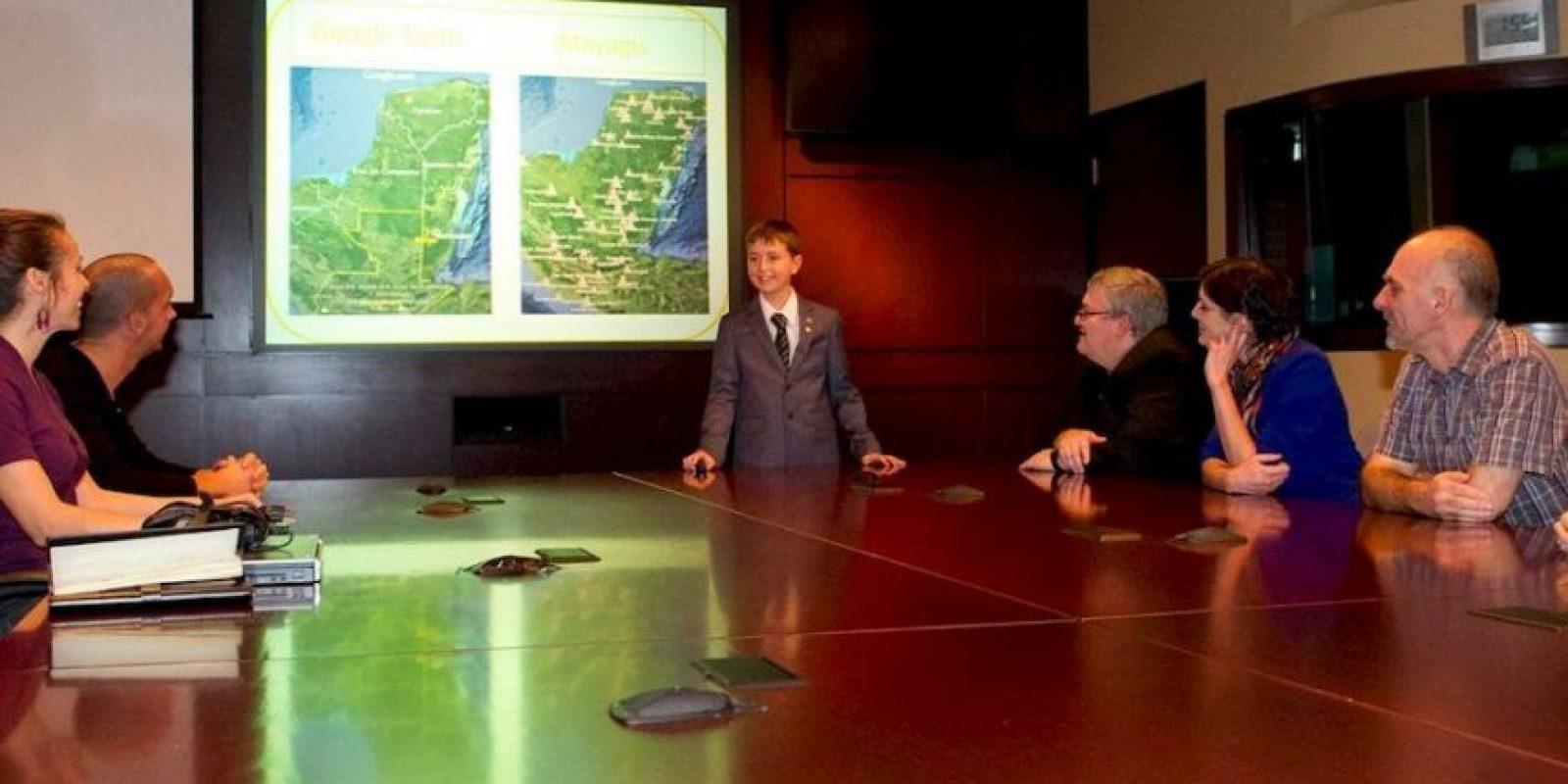 Incluso, fue invitado por la Agencia Espacial de Canadá para compartir lo descubierto Foto:facebook.com/CanadianSpaceAgency