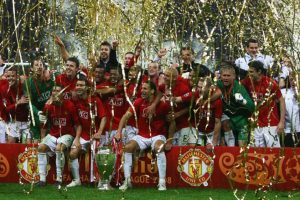 Campeón: Manchester United Foto: Getty Images