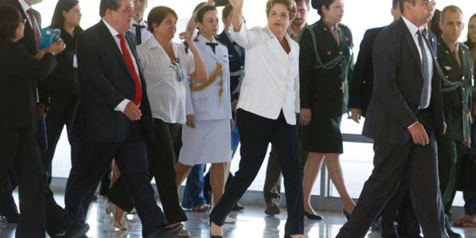 Las crisis política en la que está sumido Brasil tiene atemorizado al COI, mientras que los partidarios de Rousseff podrían usar el evento para sus manifestarse a favor de la política brasileña. Foto:Getty Images