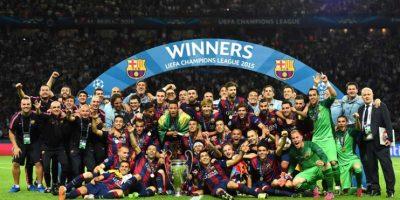 Campeón: Barcelona Foto:Getty Images