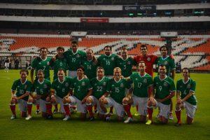 El equipo mexicano. Foto:Getty Images