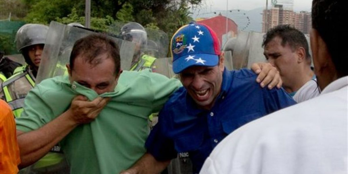 Disturbios durante marchas contra Maduro