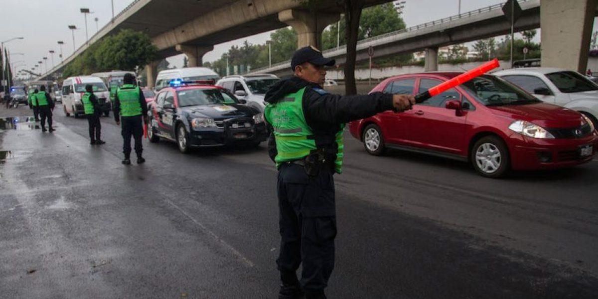 Lanzan operativo contra transporte público en la CDMX y el Edomex
