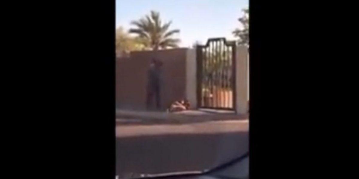 VIDEO: Golpean brutalmente a mujer frente a su hijo en Sonora
