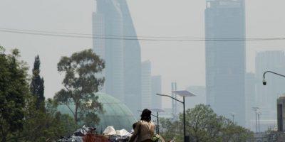 La Ciudad de México ha estado en contingencia ambiental desde hace varios días Foto:cuartoscuro