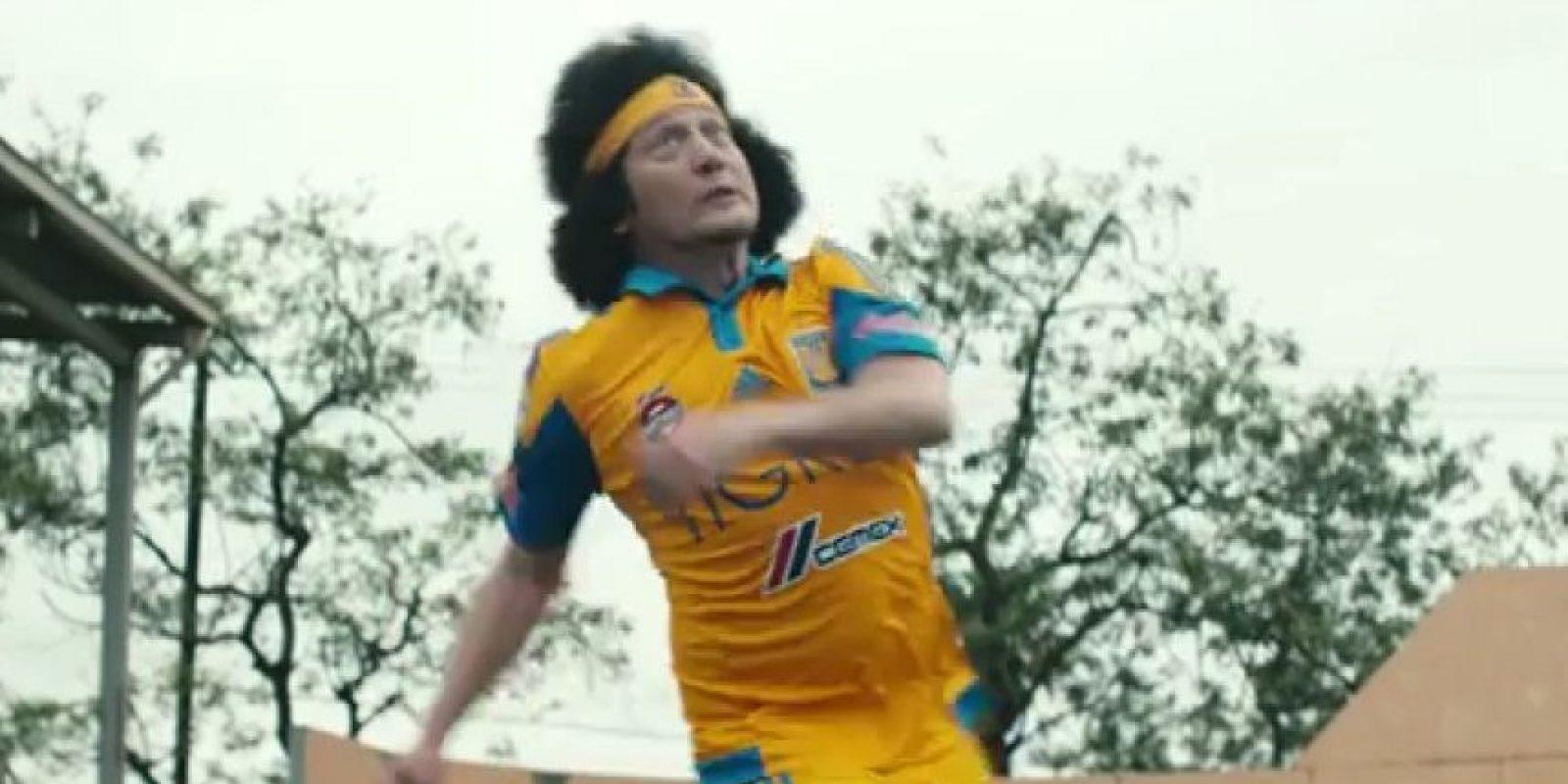 El actor que fue conquistado por el equipo mexicano, Tigres Foto:Youtube