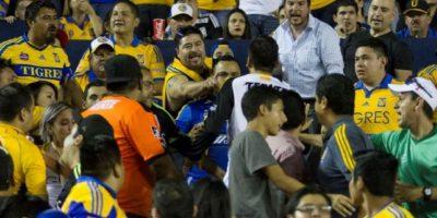 La frustración de la derrota se transformó en violencia Foto:internet