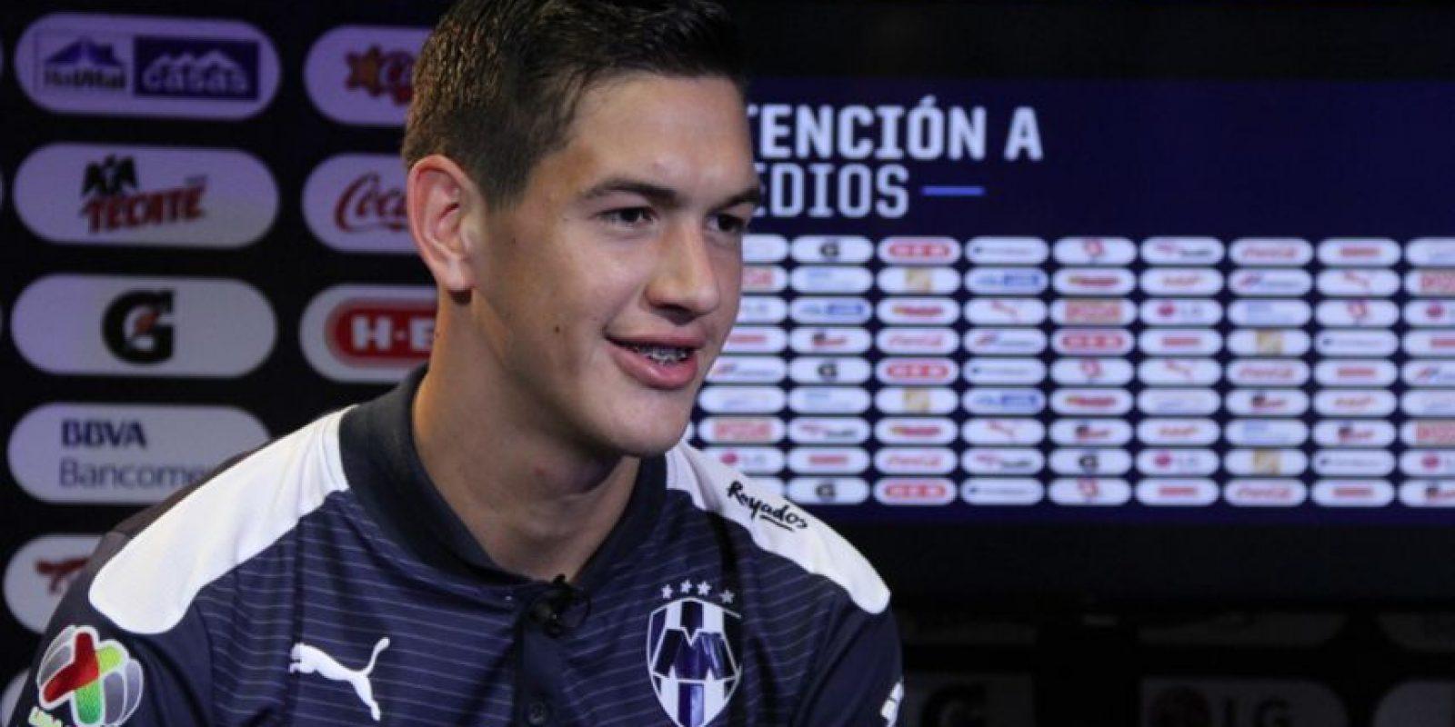 El jugador de los Rayados habló de los objetivos que tiene en mente. Foto:Israel Salazar