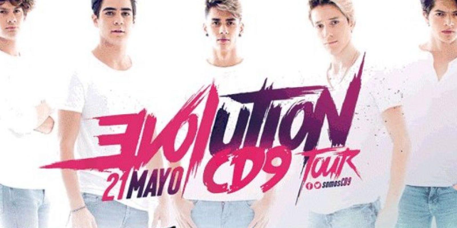 CD9 próximamente se presentará en La Arena Ciudad de México Foto:Sony Music