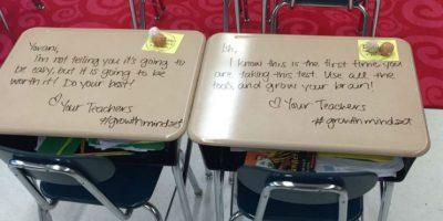 El acto de Langford no sólo cautivó a sus estudiantes, sino también a otros maestros.