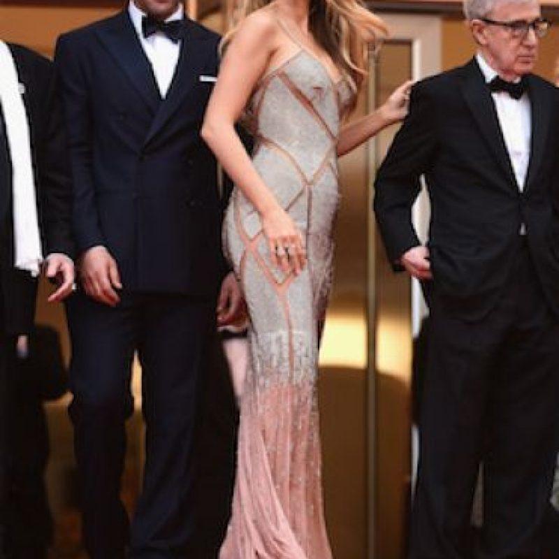 Este fue el segundo vestido que usó en su presentación. Foto:Getty Images