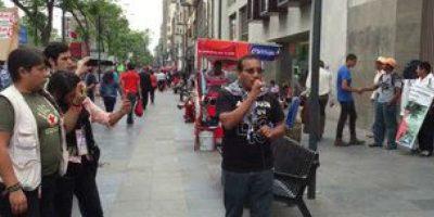 Los padres de los normalistas solicitaron una reunión con Claudia Ruiz Massieu Foto: @ oskar2687