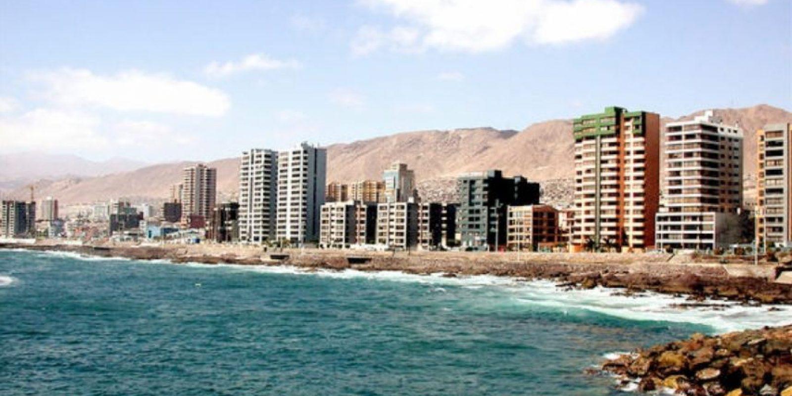 EL delito fue registrado en la ciudad de Antofagasta. Foto:Wikipedia.org