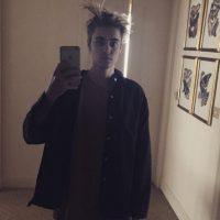 Con su peinado Foto:Vía Instagram/@justinbieber