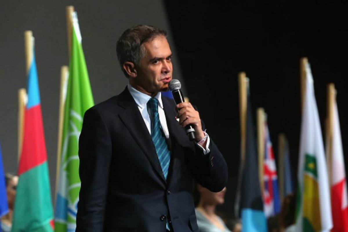 Miguel Ángel Mancera, Jefe de Gobierno capitalino Foto:Getty Images