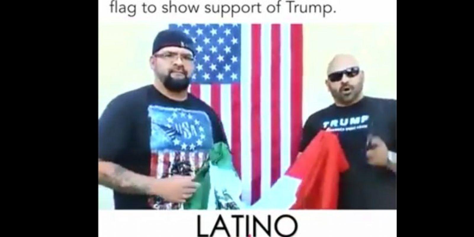 """""""En Costa Mesa vi a las familias con su bandera y pensé actúan como un puñado de salvajes ilegales"""" Foto:Especial"""