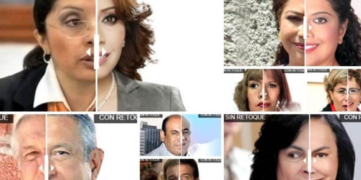 11 abusos del Photoshop rumbo a la Constituyente