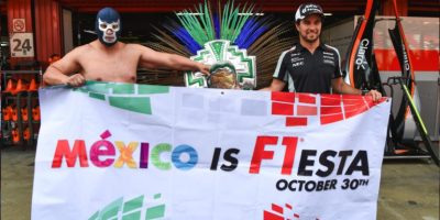 Checo y Blue Demon Jr. Foto: cortesía