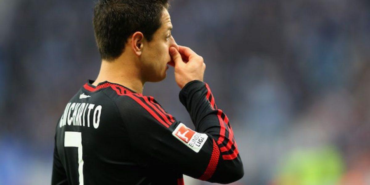Chicharito no cerrará la temporada con el Bayer Leverkusen