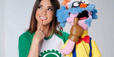 """El programa de Laura G se llama """"Me enseñas ¡y ganamos!"""" Foto:Televisa"""