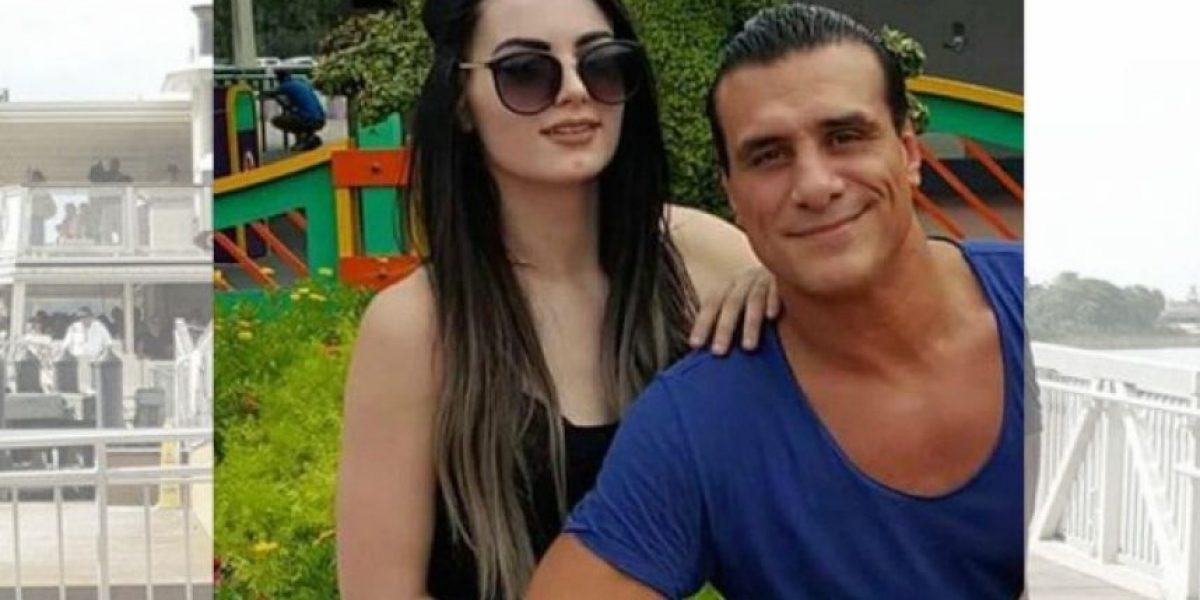 Filtran 'comprometedora' foto de Alberto del Río con la Diva Paige