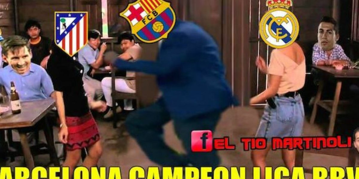 Barcelona celebra y Real Madrid llora, mira los mejores memes