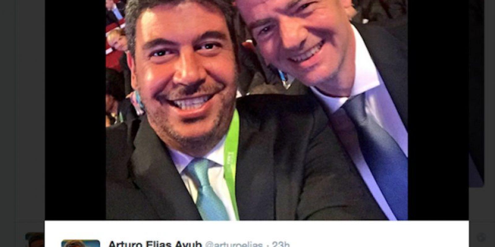 Foto:Twitter: @arturoelias