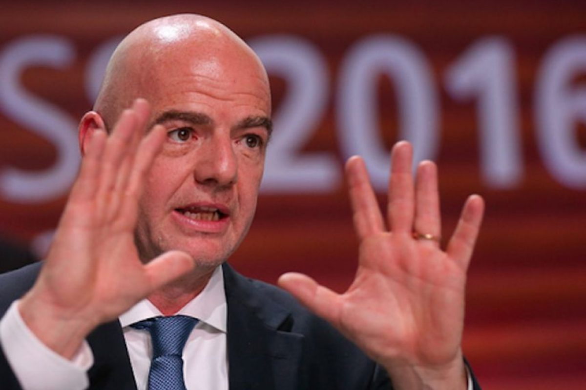 Gianni Infantino, presidente de la FIFA. Foto: Getty Images