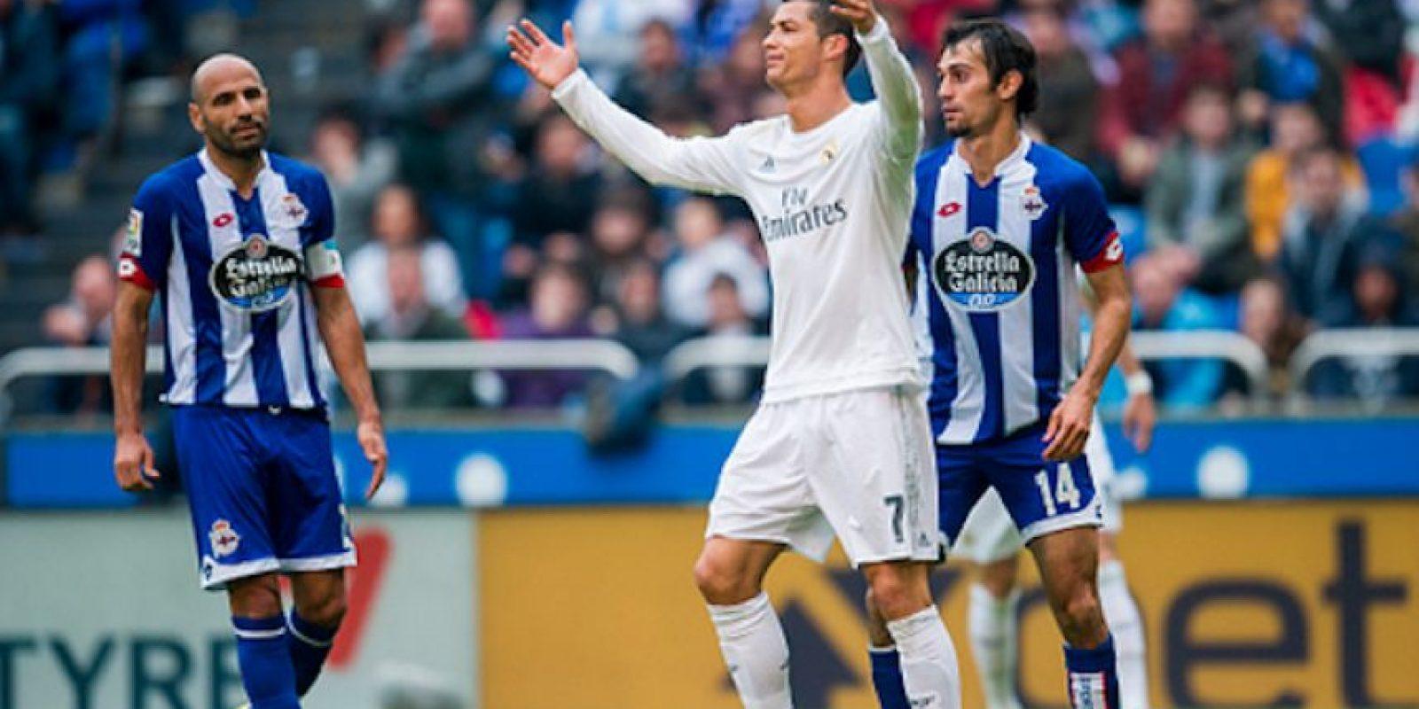 Cristiano Ronaldo marcó dos goles, inútiles en las aspiraciones madridistas de ser campeones. Foto:Getty Images