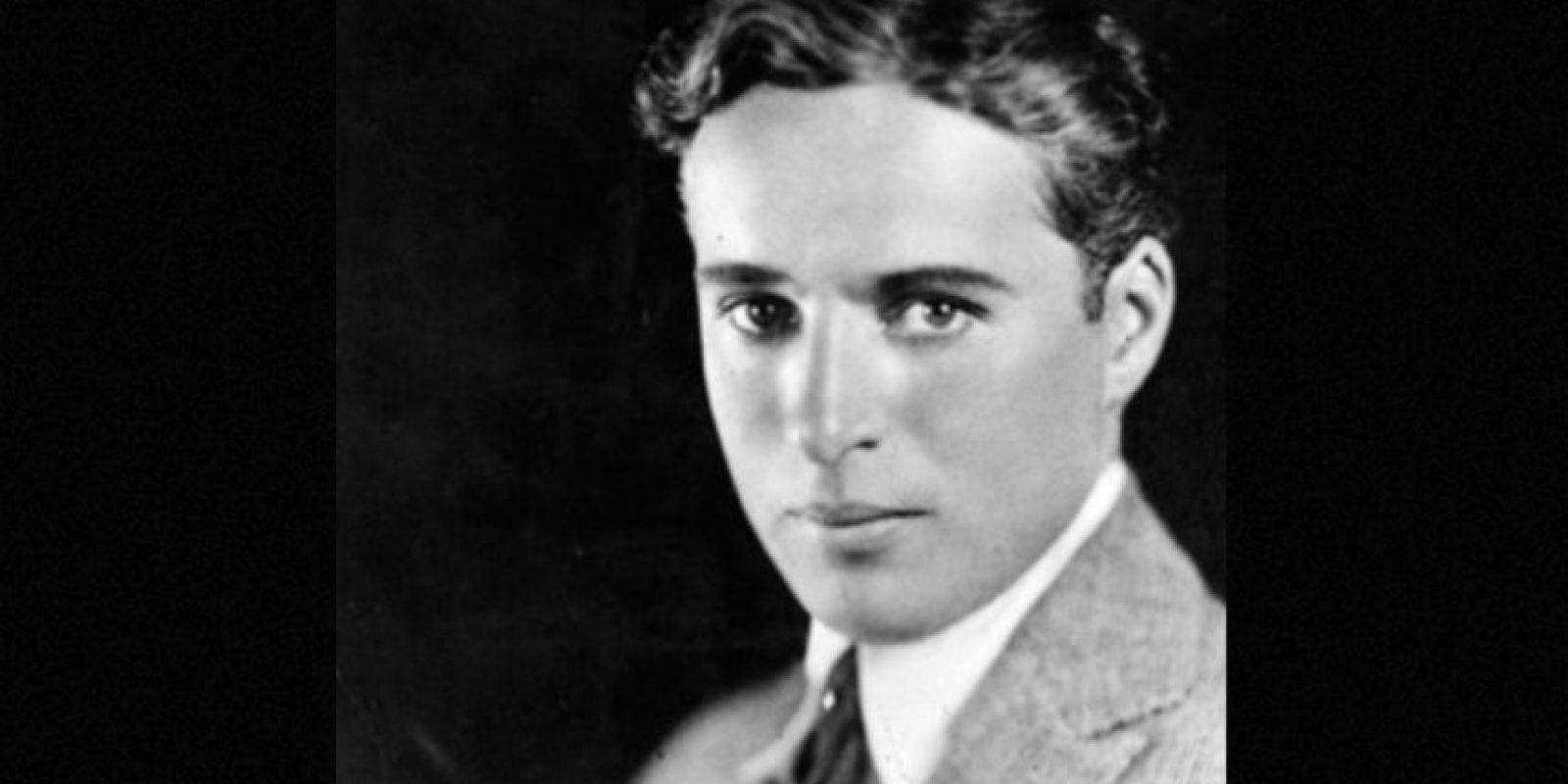 Hay algo en su rostro que recuerda a Charles Chaplin. Foto:Getty Images