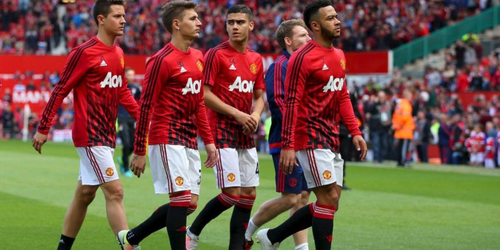 Los jugadores se retiraron desconcertados. Foto:Getty Images