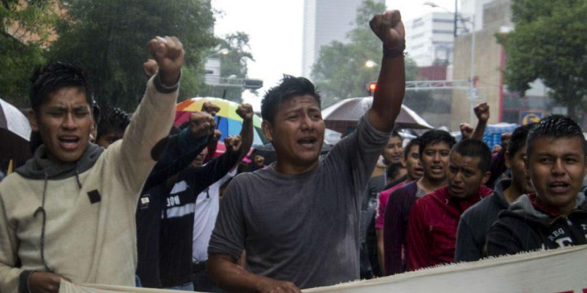 Reportan saldo blanco tras marcha de maestros en la CDMX