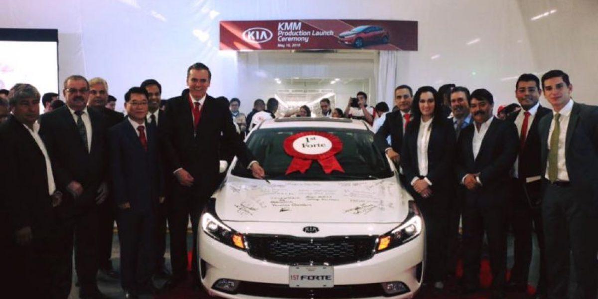 Así es el primer Kia hecho en  Nuevo León