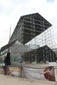 El monumento se encuentra dentro del Palacio Apostólico en el que vive el Papa. Foto:NOTIMEX/FOTO/CARLOS PEREDA