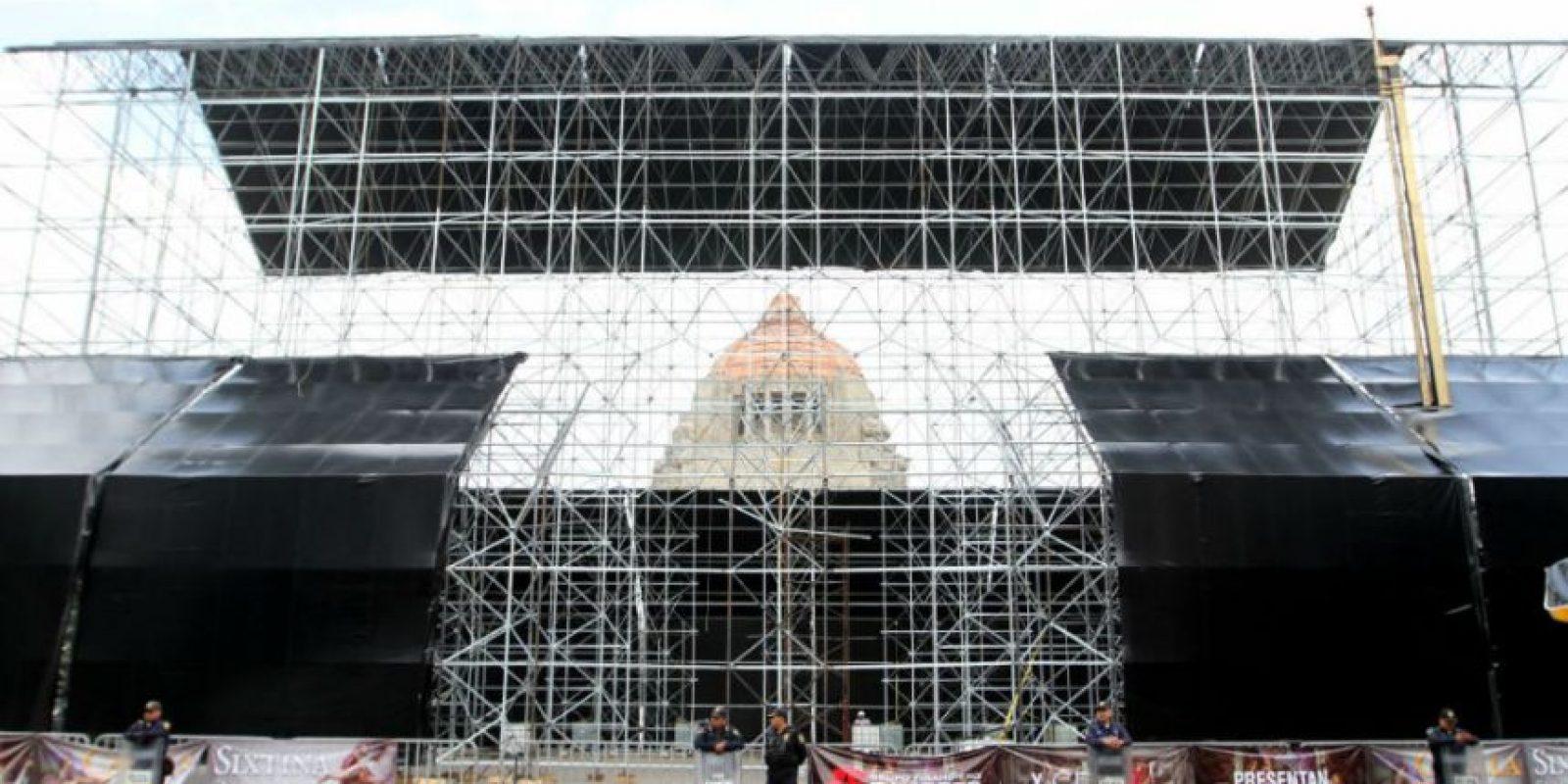Miguel Ángel decoró la bóveda por encargo del Papa Julio II Foto:NOTIMEX/FOTO/CARLOS PEREDA