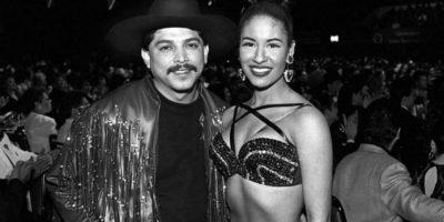 Emilio Navaira junto a la reina del Tex-Mex Selena Foto:Especial