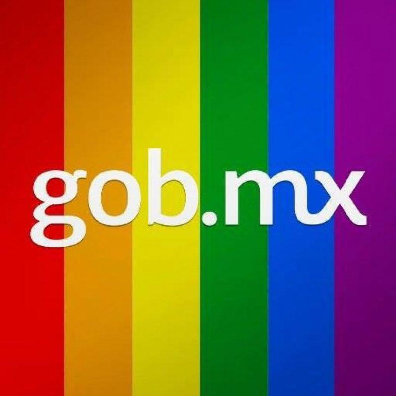 El twitter del gobierno afirmó que muchas personas son discriminadas por el hecho de ser homosexuales Foto:@gobmx
