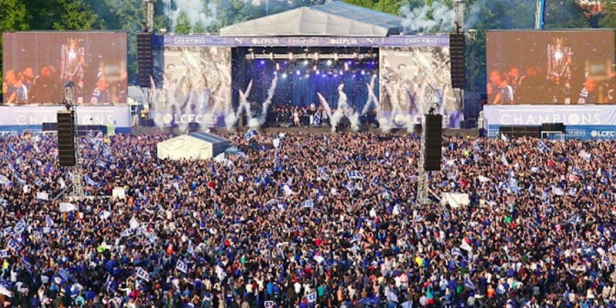 FOTOS: Con desfile y concierto, Leicester City celebra el título de la Premier