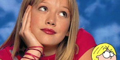 "Hilary Duff se hizo popular por ""Lizzie McGuire"". Foto:vía Disney"