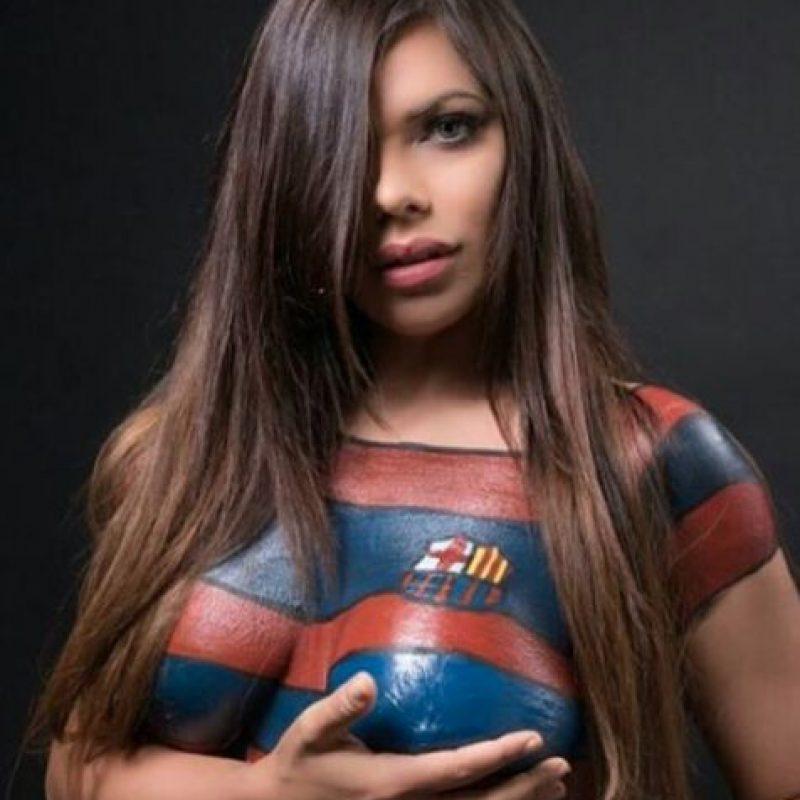 Fotos Miss Bumbum Cumple Su Promesa Y Se Desnuda Por El Barça