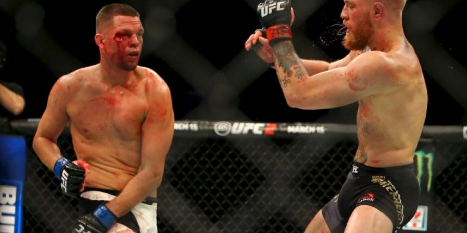 Tiene un récord en las artes marciales mixtas de 19 victorias y tres derrotas Foto:Getty Images