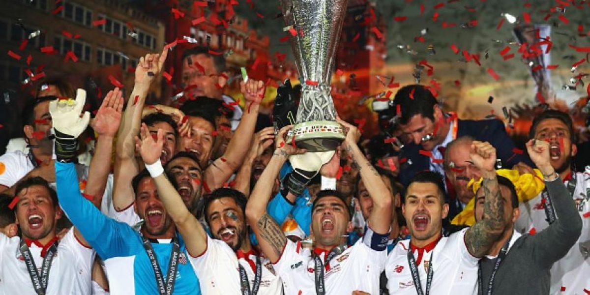¡Sevilla, tricampeón de la Europa League!