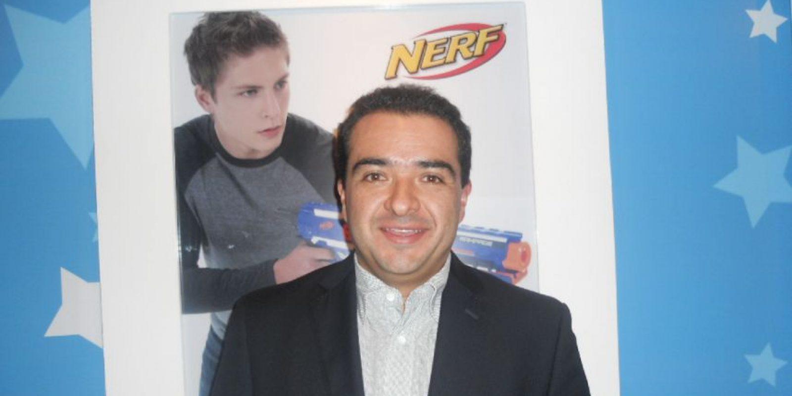 Carlos Espitia, Director de Mercadotecnia Hasbro de México. Foto:Especial
