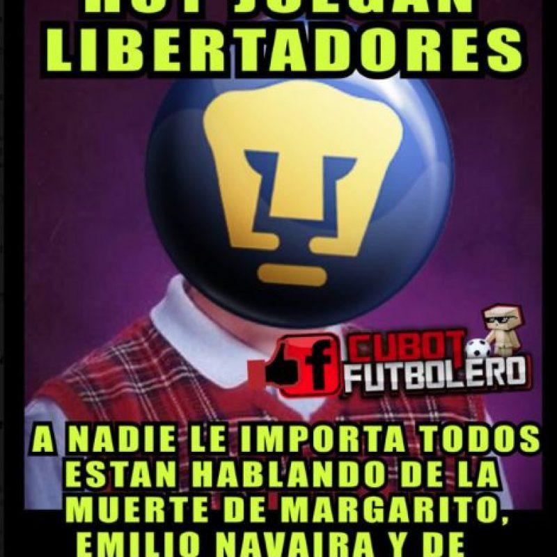 Las burlas de Pumas en Libertadores Foto:internet
