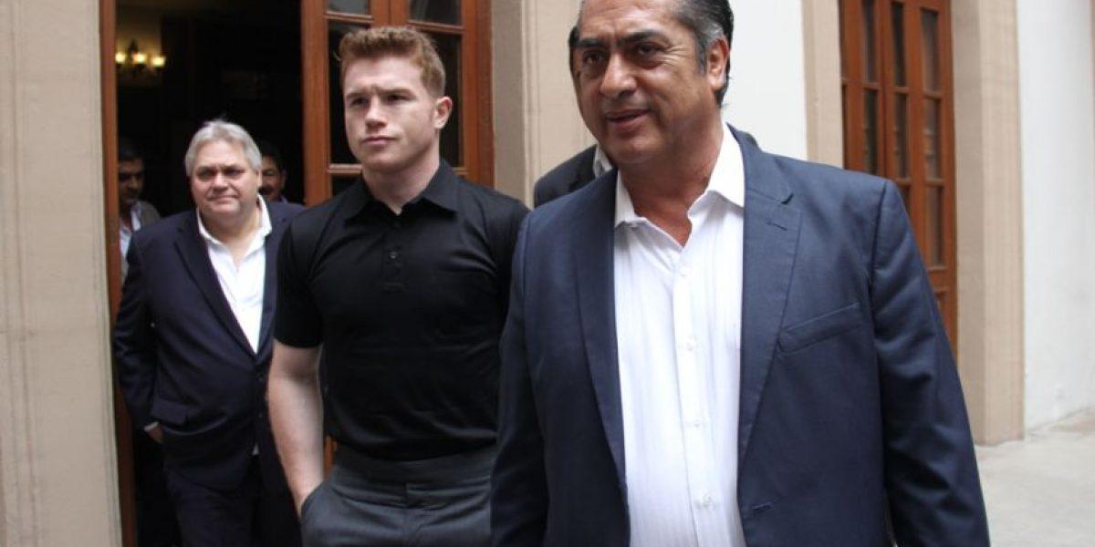Apoya Canelo Álvarez el boxeo regio