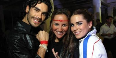 """En 2010, cuando participaba en la telenovela """"Verano de amor"""" con García Vivanco. Foto:Quien.com"""